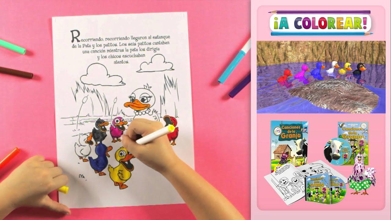 A Colorear los Dibujos de Las Canciones de la Granja 2 - El Reino ...
