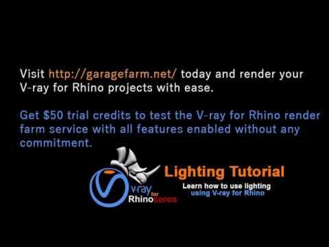 V-ray for Rhino | Lighting Tutorial