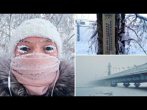 Inside the Siberian town where -62C weather shatters thermometers