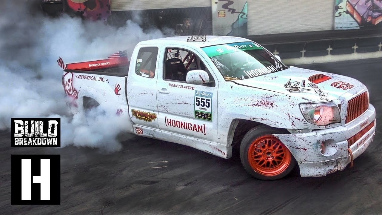 1jz Swapped Tacoma Xrunner Built To Drift Pickup Slays Our Yard