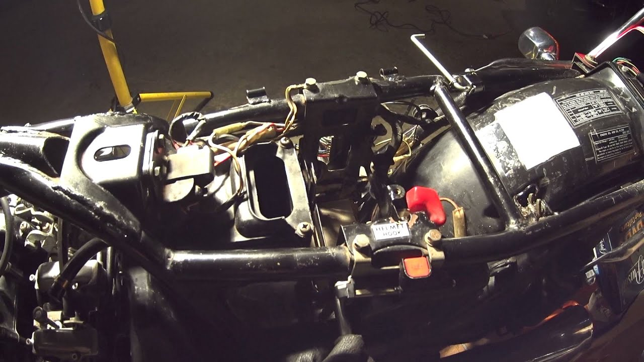 hight resolution of 1981 kz550 carb install and first start