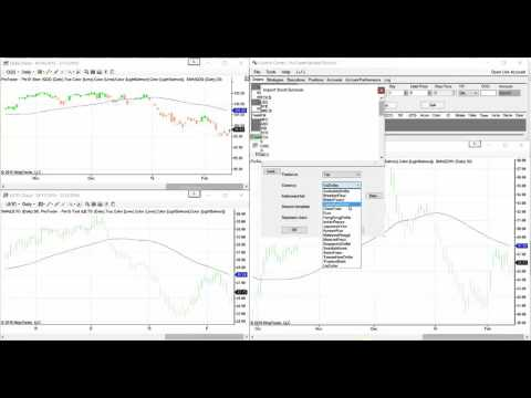 Ninja Trader -  How To Add Canadian Stocks Using Yahoo EOD Data Feed