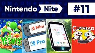 Yoshi, Nintendo Switch Revisions, Nintendo Phone & More! - Nintendo Nite Podcast Episode #11