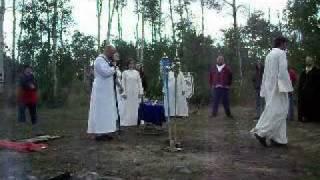 ODU Irish Druidry Ritual part 1 - Aspen Grove Lughnasadh Campout - 8-8-09