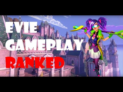Paladins Evie Ranked Gameplay - Not an easy match