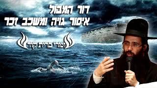 הרב יעקב בן חנן - דור המבול ואיסור גויה