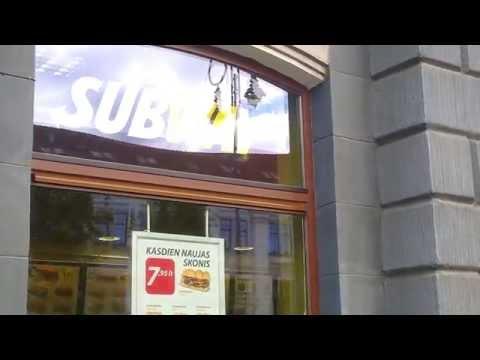SUBWAY atidarė VILNIUJE | SUBWAY OPENED IN VILNIUS | First in Lithuania