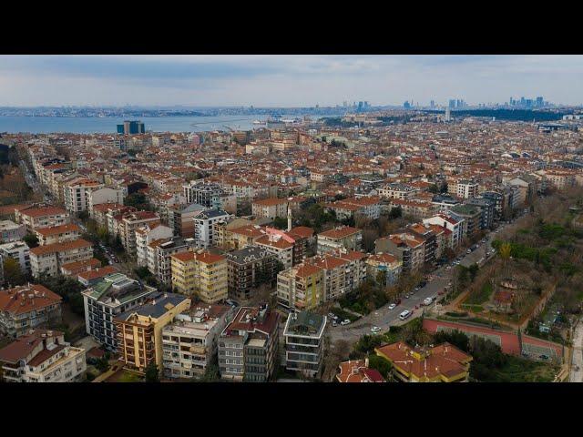 Kuşbakışı Fenerbahçe - Kadıköy - Aralık 2020 / Bird's-Eye View Kadıkoy - December 2020