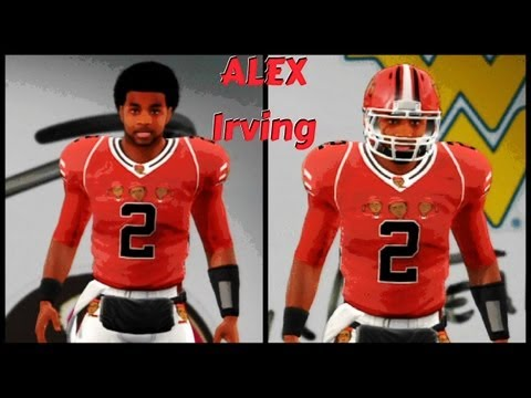 NCAA Football 14 Road To Glory - Creation Of The BEST QB EVER ! | Swagged Out Alex Irving