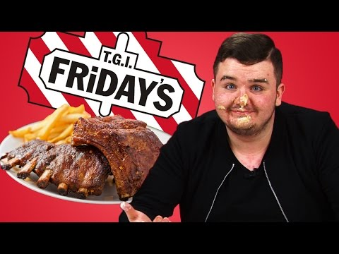 Irish People Taste Test TGI Friday's