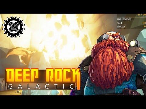 Chase That Mule Lenscap! DEEP ROCK GALACTIC Adventures (Closed Alpha)