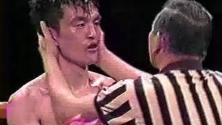 趙龍仁 vs 仲里繁(東洋太平洋スーパー・バンタム級タイトルマッチ)