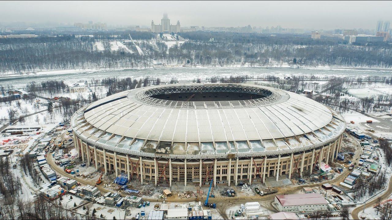 лужники стадион реконструкция фото 2016