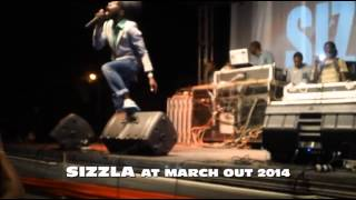 SIZZLA, BOUNTY KILLA, BABY TRISH & BEENIE MAN @ MARCH OUT 2014