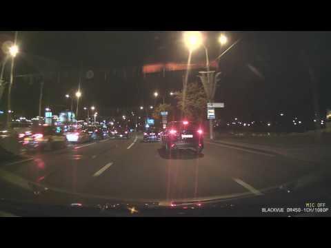 Ночная запись BlackVue DR450 1CH GPS