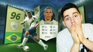 RONALDO NAZARIO PRIME 96 - TO SIĘ STAŁO NAPRAWDĘ! NAJLEPSZA KARTA ZROBIONA! | FIFA 18