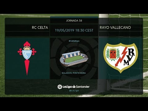 Calentamiento RC Celta vs Rayo Vallecano
