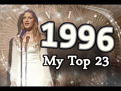 Eurovision Song Contest 1996 - My Top 23 [HD W/ Subbed Commentary]