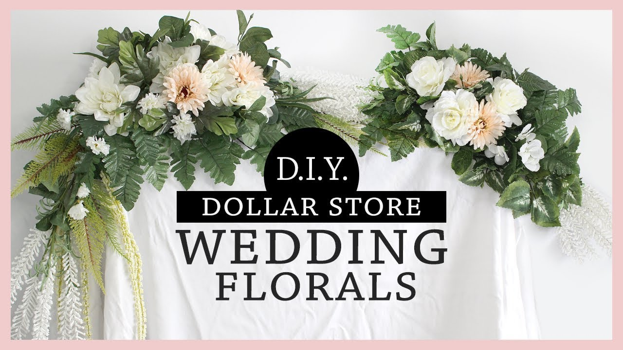 Amazing Dollar Store Diy Wedding Flower Arrangements