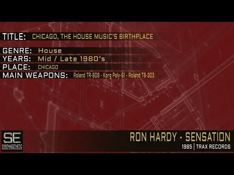 Ron Hardy - Sensation (Trax Records | 1985)