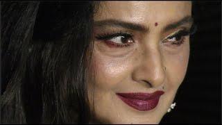 Rekha Looking Beautiful At Priyanka Chopra's Party Video 2017 | BollywoodKilla