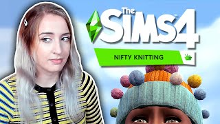 A critical review of The Sims 4: Nifty Knitting
