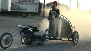 a true motorcycle chariot
