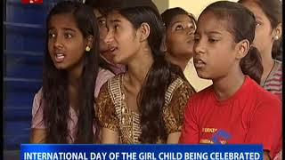 International day of the Girl child being celebrated