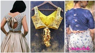 Latest blouse back neck design 2019 || blouse design for occasions||new neck design for women/girls