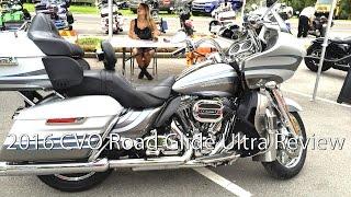 2016 Harley Davidson CVO Road Glide Ultra Motorcycle Review