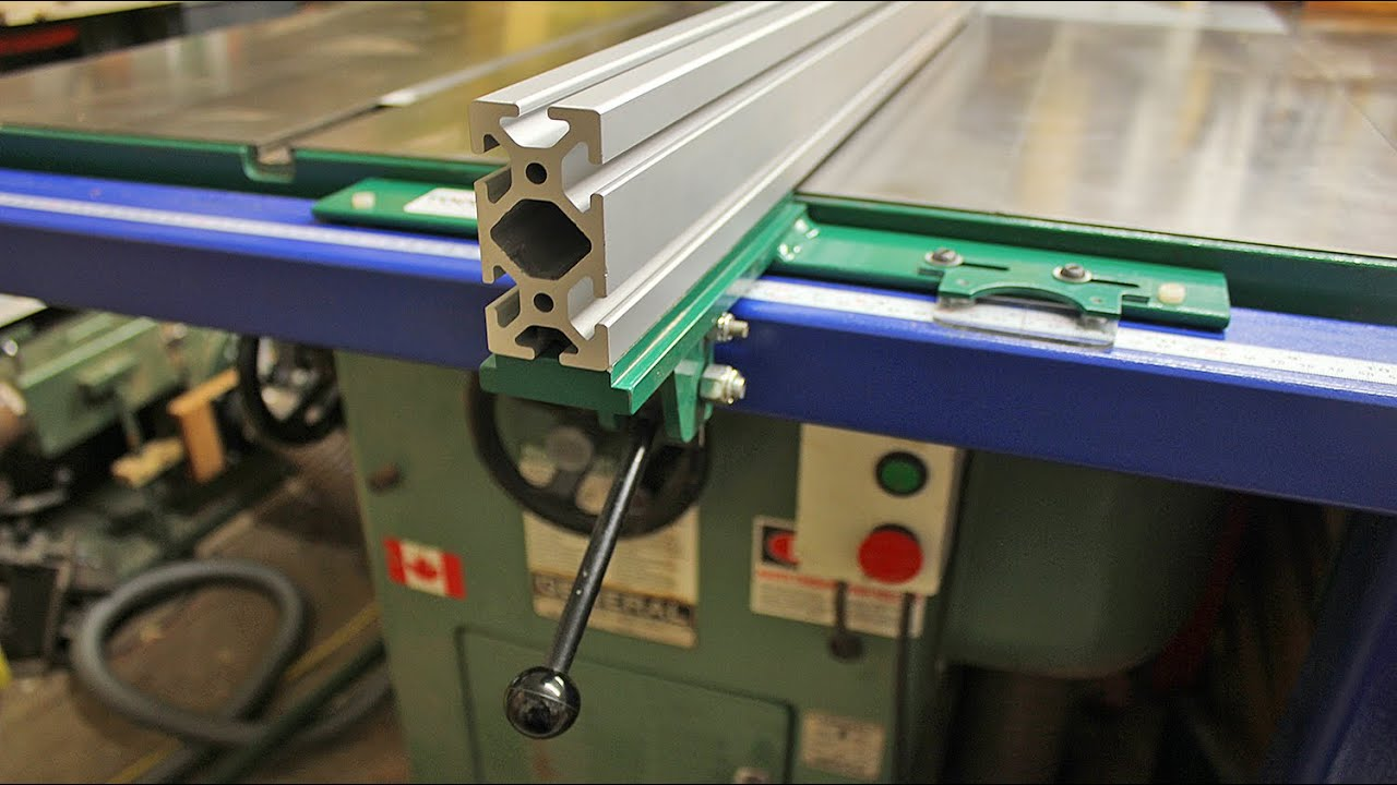 Machined Aluminum Extrusions For Table Saw Fence Inspection You