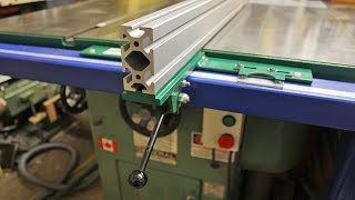 758. Machined Aluminum Extrusions For Table Saw Fence - Inspection