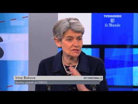 Irina Bokova dans Internationales - émission du dimanche 7 juin 2015