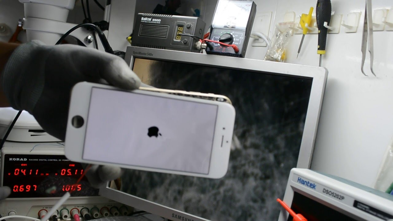 8f6be02c20f reparacion iphone 6 Se Prende Y Se Apaga - No Pasa De La Manzana y se  calienta caso facil - YouTube