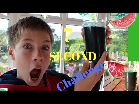 7 SECONDS SPIRULINA CHALLENGE ( Interview with kids about food)
