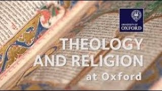 Studying Theology and Religion at Oxford by Dr Mary Marshall