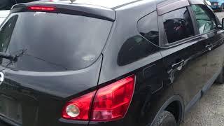 Видео-тест автомобиля Nissan Dualis (черный, 2007г., Mr20de, J10-044608)