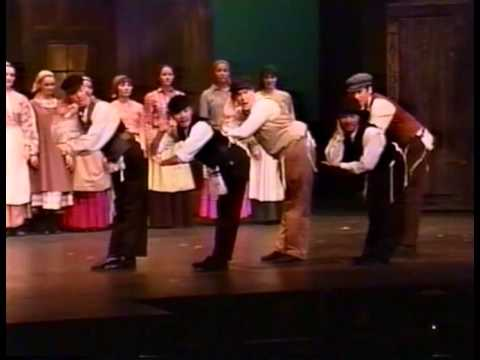 Josh Groban In Fiddler On The Roof May 1999 Part 1