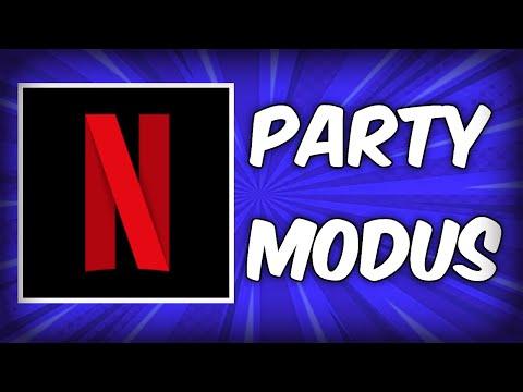 Netflix Party Modus - Online mit Freunden Filme und Serien schauen Tutorial German / Deutsch