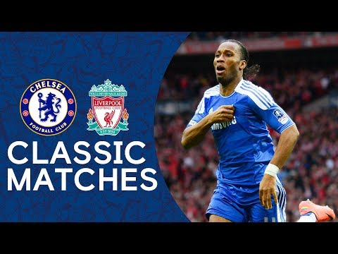 Chelsea 2-1 Liverpool | Drogba's Match Winner Seals The Cup | FA Cup Final 2012 Highlights