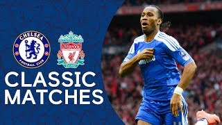 Download Chelsea 2-1 Liverpool | Drogba's Match Winner Seals The Cup | FA Cup Final 2012 Highlights