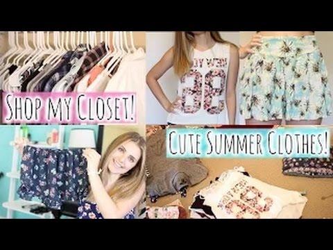 a40f80be68f4 Shop My Closet: Cute & Inexpensive Summer Clothes! | Girls Only - YouTube