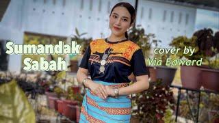Sumandak Sabah - Marsha Milan & Velvet Aduk (cover by Via Edward)