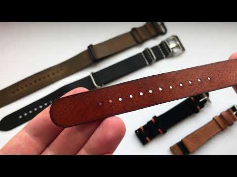 5 кожаных ремней с Aliexpress | Кварцевые Orient