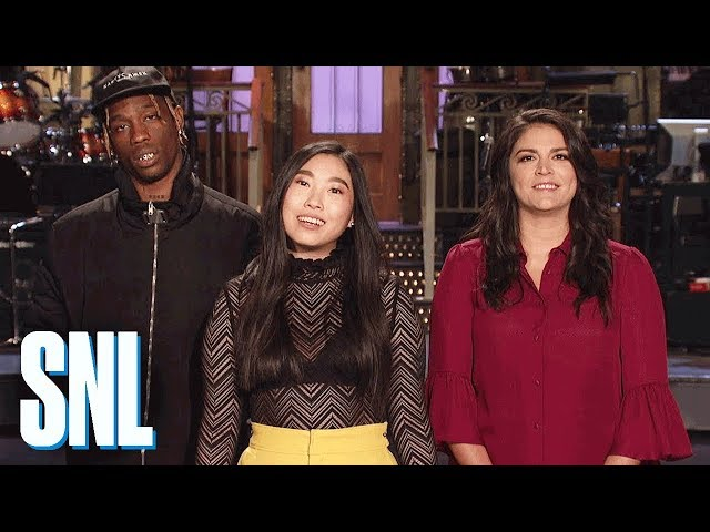 133998e05c5a This week, SNL returns with rapper and Crazy Rich Asians co-star Awkwafina,  musical guest and hottest hip-hop artist on the planet Travis Scott, ...