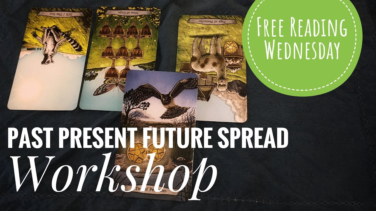 Free Reading Wednesday: Past-Present-Future Spread Workshop (LIVE)