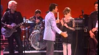 Dick Clark interviews X - American Bandstand 1985