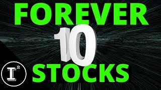 10 STOCKS TO BUY AND OWN FOREVER! 💵 BLUE CHIP GEMS!