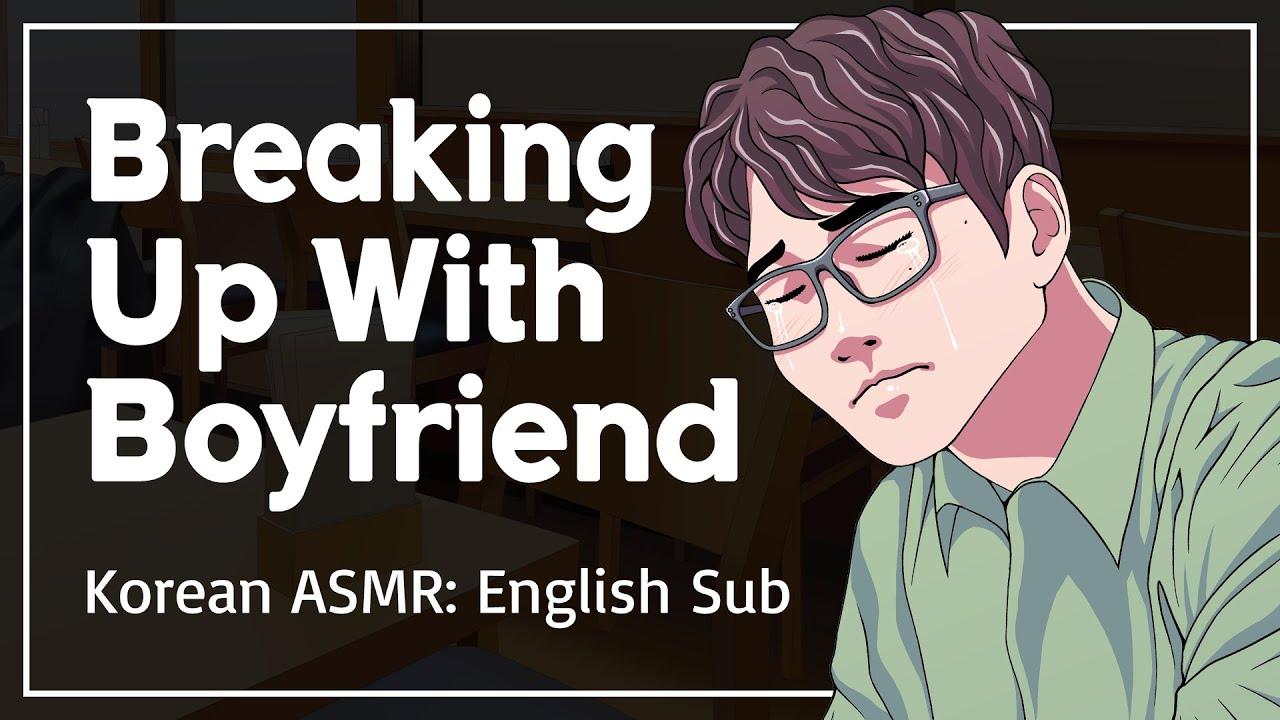 Boyfriend Crying & You Wanna Break Up With Him - Korean Boyfriend Comfort ASMR [ENG SUB]
