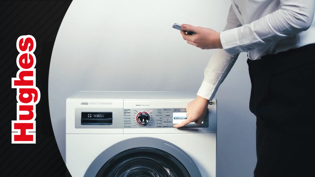 bosch washer or dryer how to connect to the home connect app youtube. Black Bedroom Furniture Sets. Home Design Ideas